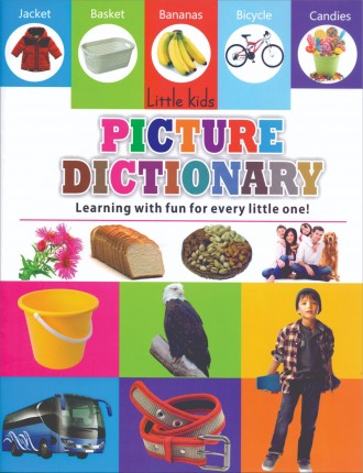 LITTLE KIDS BOOK PICTURE DICTIONARY