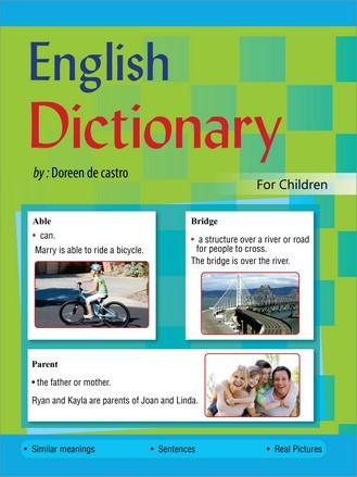 ENGLISH DICTIONARY (FOR CHILDREN) PAPER BACK