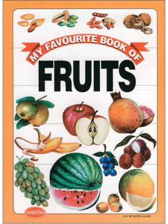 MY FAVOURITE BOOK OF FRUITS