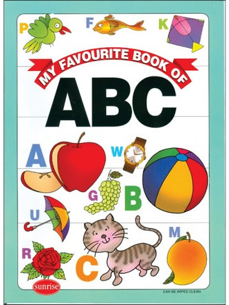 MY FAVOURITE BOOK OF ABC