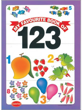 MY FAVOURITE BOOK OF 123