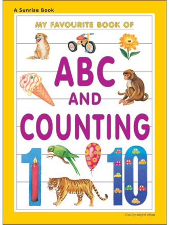 MY FAVOURITE BOOK OF ABC AND COUNTING
