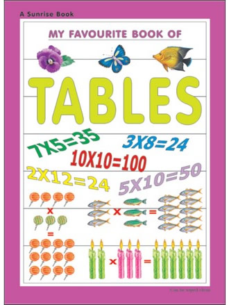 MY FAVOURITE BOOK OF TABLES
