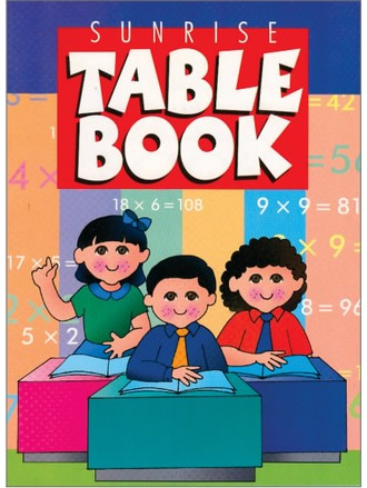 SUNRISE TABLE BOOK