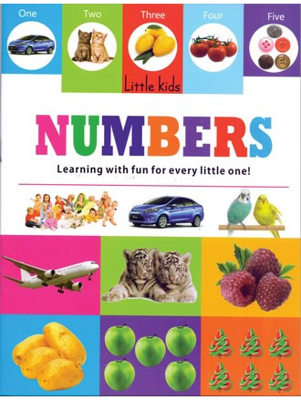 LITTLE KIDS BOOK NUMBERS