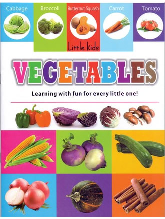LITTLE KIDS BOOK VEGETABLES
