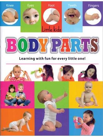 LITTLE KIDS BOOK BODY PARTS
