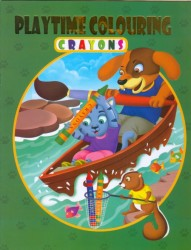 PLAYTIME COLOURING - CRAYONS 3