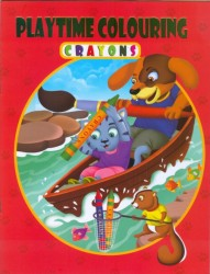 PLAYTIME COLOURING - CRAYONS 5