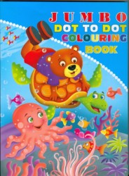 JUMBO DOT TO DOT COLOURING BOOK -1