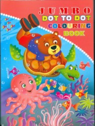 JUMBO DOT TO DOT COLOURING BOOK -3
