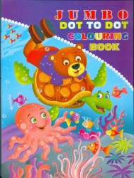 JUMBO DOT TO DOT COLOURING BOOK -4
