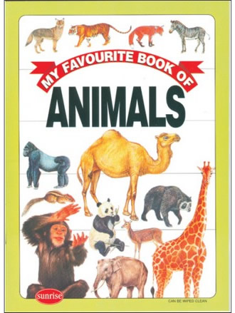 MY FAVOURITE BOOK OF ANIMAL