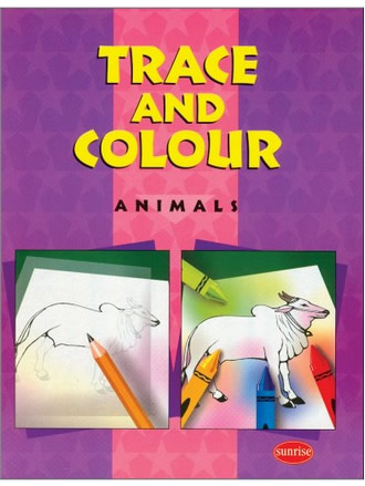 TRACE AND COLOUR (ANIMALS)