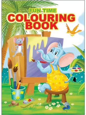 FUN TIME COLOURING BOOK-1