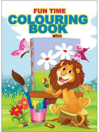 FUN TIME COLOURING BOOK-2