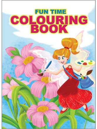 FUN TIME COLOURING BOOK-3