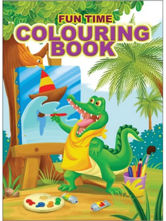 FUN TIME COLOURING BOOK-4