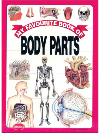 MY FAVOURITE BOOK OF BODY PARTS