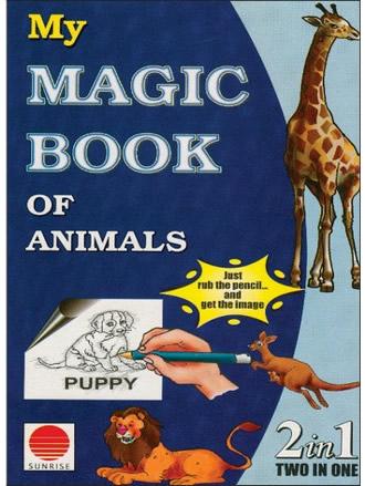 MY MAGIC BOOK OF ANIMALS