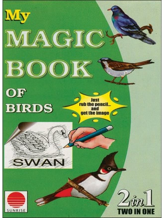 MY MAGIC BOOK OF BIRDS