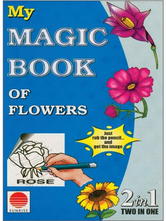 MY MAGIC BOOK OF FLOWERS