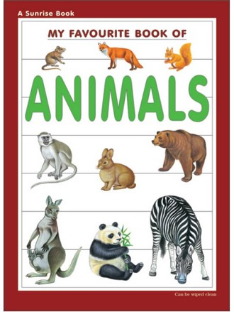 MY FAVOURITE BOOK OF ANIMALS