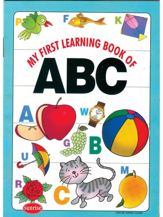 MY FIRST LEARNING BOOK OF ABC