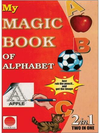 MY MAGIC BOOK OF ALPHABET