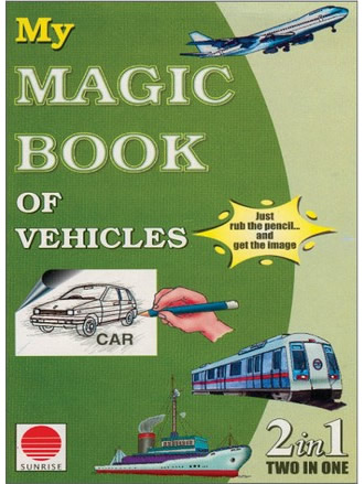 MY MAGIC BOOK OF VEHICLES