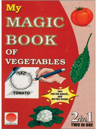 MY MAGIC BOOK OF VEGETABLES