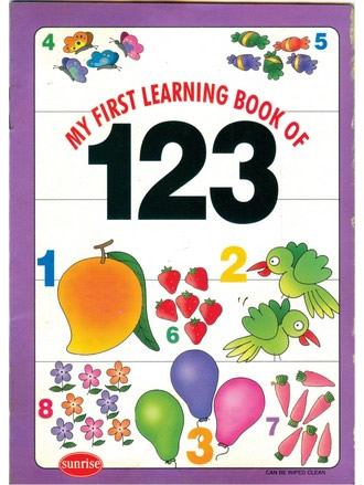 MY FIRST LEARNING BOOK OF 123