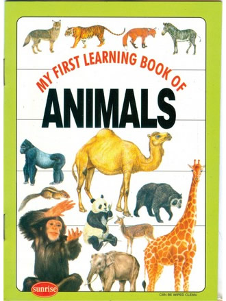 MY FIRST LEARNING BOOK OF ANIMALS