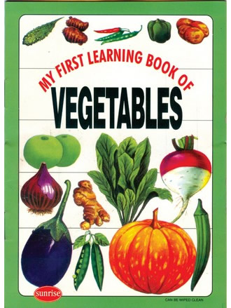 MY FIRST LEARNING BOOK OF VEGETABLES