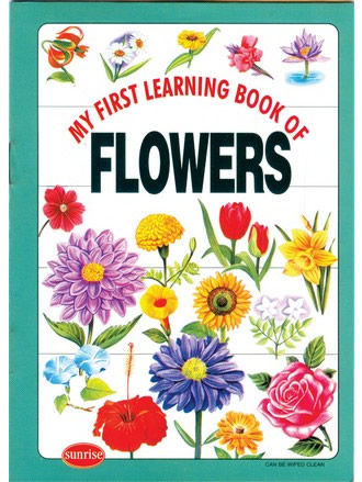 MY FIRST LEARNING BOOK OF FLOWERS
