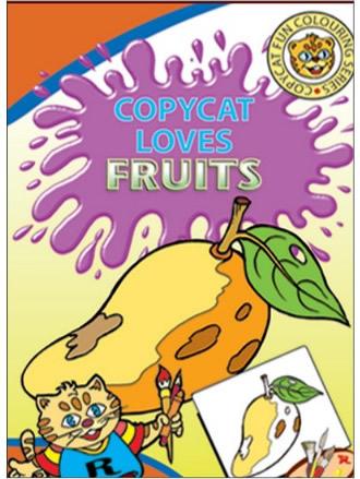 COPY CAT LOVES FRUITS