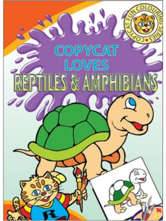 COPY CAT LOVES REPTILES & AMPHIBIANS
