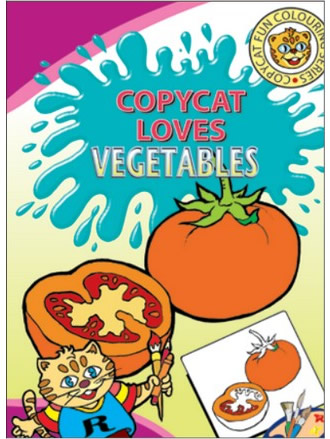 COPY CAT LOVES VEGETABLES