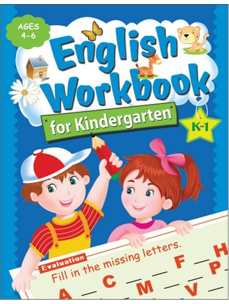 ENGLISH WORKBOOK FOR KINDERGARTEN K1