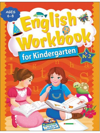 ENGLISH WORKBOOK FOR KINDERGARTEN K2