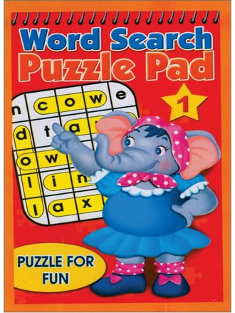WORD SEARCH PUZZLE PAD-1