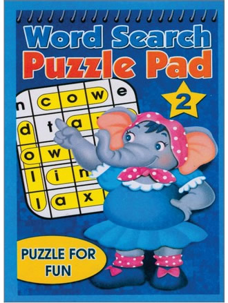 WORD SEARCH PUZZLE PAD-2