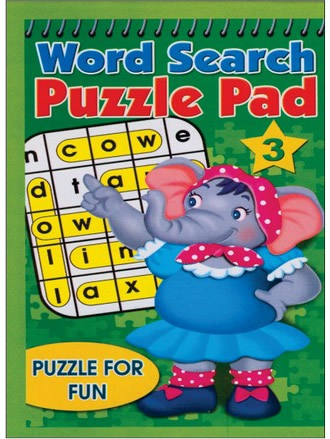 WORD SEARCH PUZZLE PAD-3
