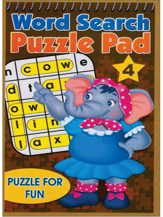 WORD SEARCH PUZZLE PAD-4