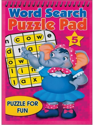WORD SEARCH PUZZLE PAD-5