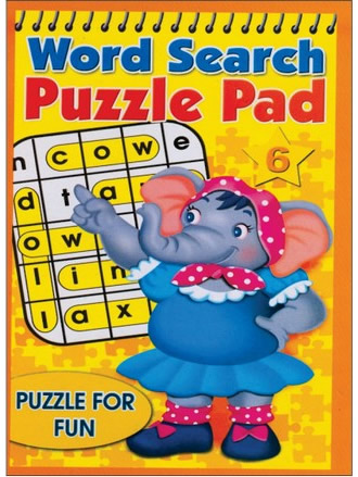 WORD SEARCH PUZZLE PAD-6