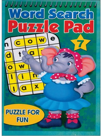 WORD SEARCH PUZZLE PAD-7