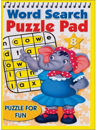 WORD SEARCH PUZZLE PAD-8