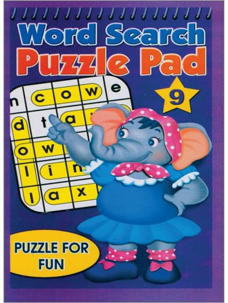 WORD SEARCH PUZZLE PAD-9