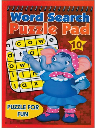 WORD SEARCH PUZZLE PAD-10
